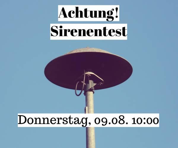 Sirenentest_blau