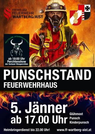 Plakat Punschstand